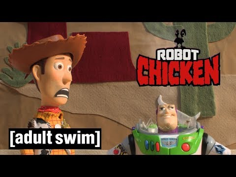 Robot Chicken | Toy Story: Deleted Scenes | Adult Swim UK 🇬🇧