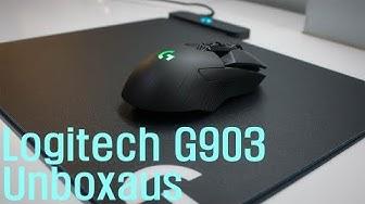 Logitech g903 unboxaus ja eka peli (Suomen hintavin hiiri)