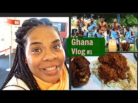 Ghana Study Abroad Vlog #1|Traveling|Naming Ceromony