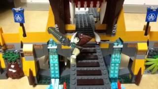 레고 키마- 사자 키 신전  전투