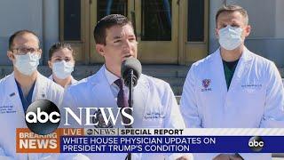Trump doing 'very well,' says doctor   ABC News
