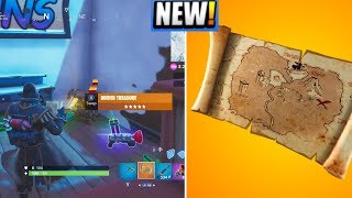 *NEW* Buried Treasure/X Marks The Spot ITEM! (Location/Gameplay!) - Fortnite Battle Royale
