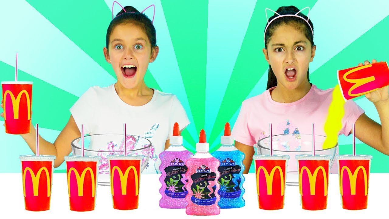 Dont Pick The Wrong Mcdonalds Milkshake Slime Challenge