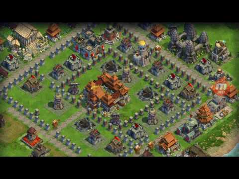 DomiNations - World War - Industrial Age (Enlightment Army) #01