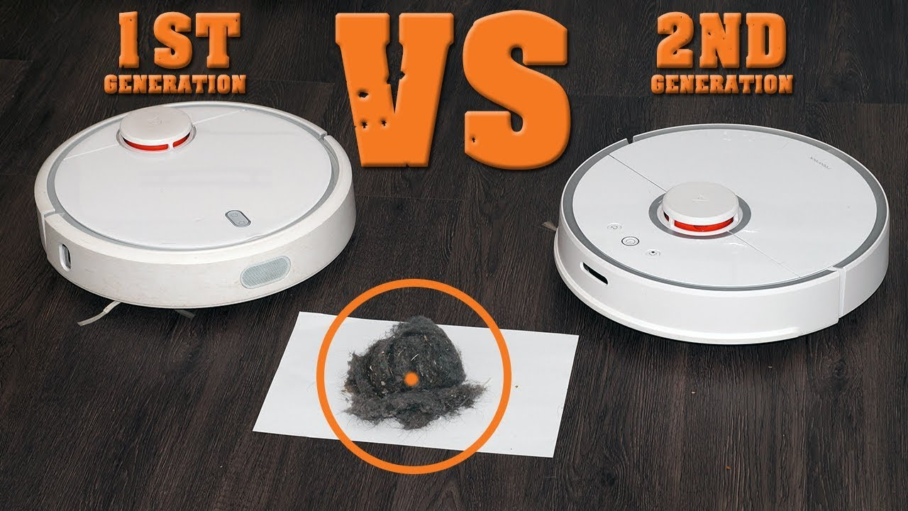 WHO CLEANS BETTER than XIAOMI MI ROBOT 1ST OR ROBOROCK S50 CLEANING TEST  COMPARISON