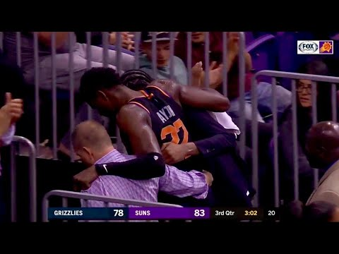Deandre Ayton out for Suns vs. Lakers due to ankle soreness