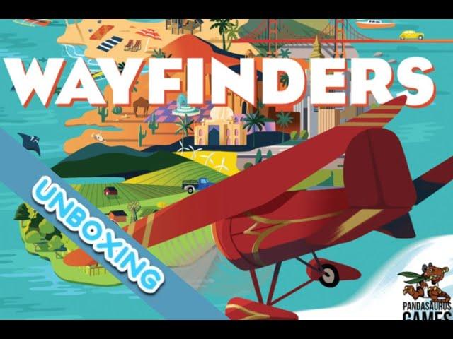 Wayfinders Board Game Unboxing