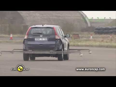 2013 Honda CRV - Crash Test Euro Ncap 2013 - ESC Test