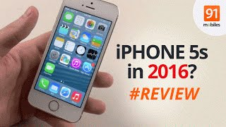 Apple iPhone 5s in 2016 / 2017? [Review]: Should you buy this phone now?(iPhone 5s in 2016/2017? Well, Apple iPhone SE has launched, but iPhone 5s is now much cheaper... So should you be buying the 5s? SyD reviews this popular ..., 2016-04-09T06:14:10.000Z)