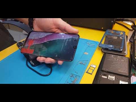 Samsung A50 (A505) Разборка и замена дисплея.