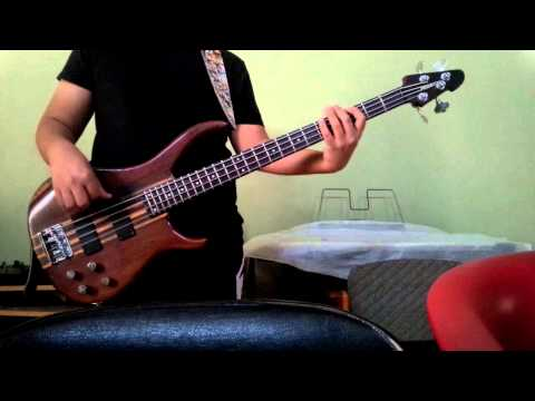 Barry Likumahuwa - Walking With The Bass (Bass Cover)