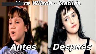 Matilda Antes y Después 2018