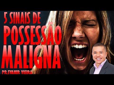 5 Sinais De Possessão Maligna, Pr.Evanir Vieira