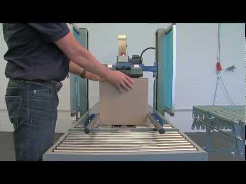 Automatische dozensluitmachine YS-502D - De Witt Eindverpakkingssystemen