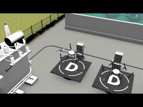 3次元の地図を作り、ドローンの安全飛行を支援する「ドローンハイウェイ構想」