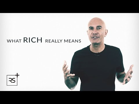 What Rich Really Means   Robin Sharma