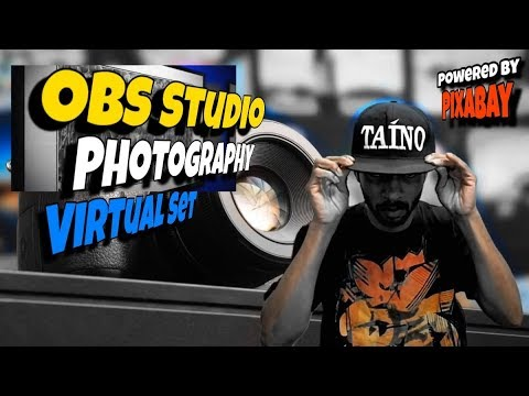OBS Studio - Photography Background Provided by Pixabay