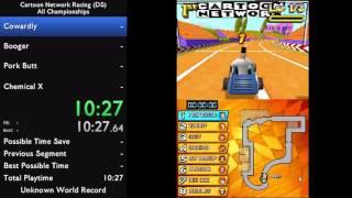 Cartoon Network Racing (DS) (Alle Meisterschaften) - 1:01:41