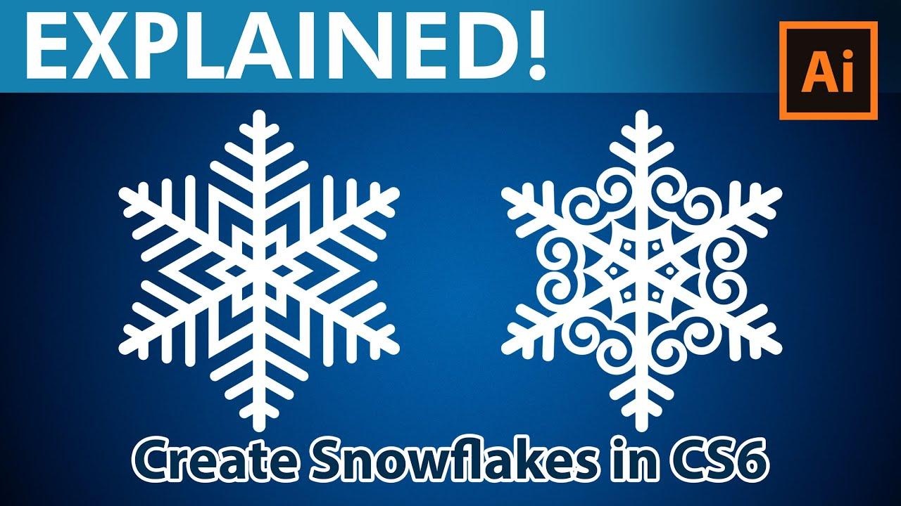 Snowflakes youtube