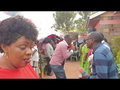 Wanyoike James @ Baby Talia's Dedication Party