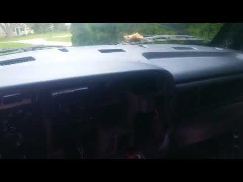 1997 Dodge Ram 1500 Dashboard Cover Replacement - #10 Of 11: Installation