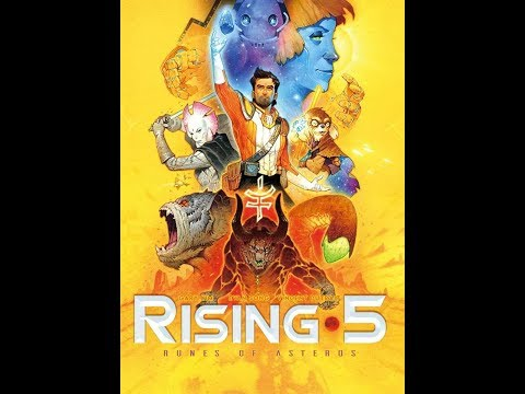Rising 5: Collector's art edition unboxing