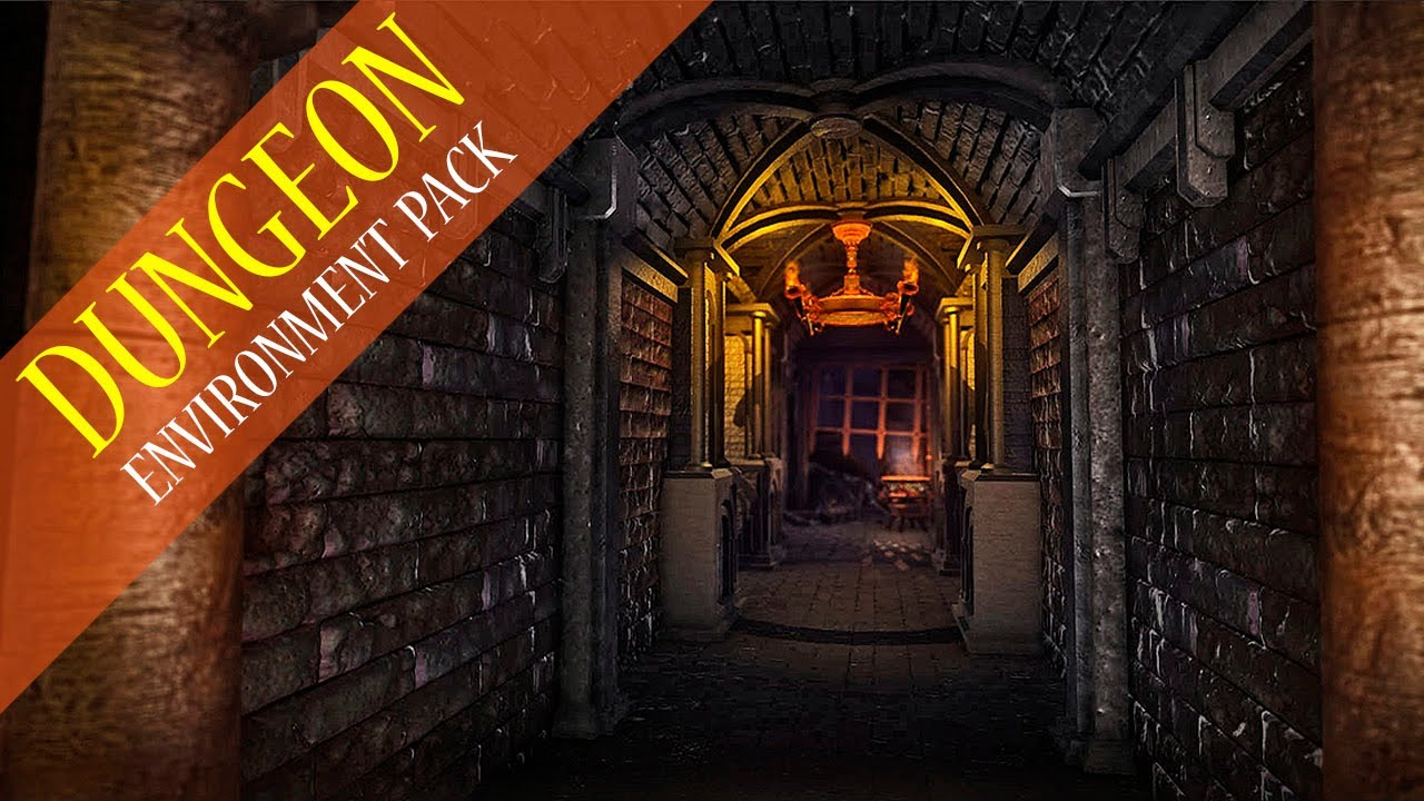Dungeon Pack 1 0 - environment generation pack for Unity 3D by Many-Worlds