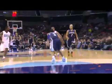 Rookie to the Rack   Memphis Grizzlies Vs Charlotte Bobcats   11   17   2012   NBA Season 2012   13