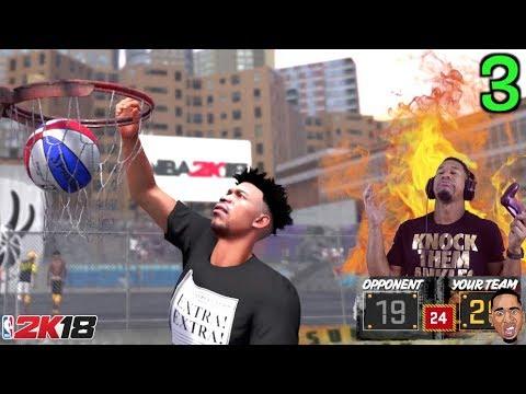 NBA 2k18 Playground - WE ON A STREAK BIH!!