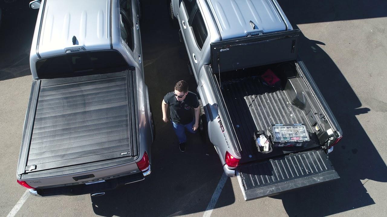 Tacoma Truck Bed Cover Comparison Bakflip Mx4 Retraxpro Mx Youtube