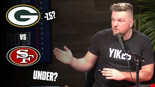 Pat McAfee's Prediction For Packers 49ers