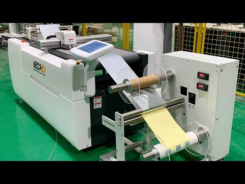 Warmly celebrate the first successful test of the roll-to-roll system of the cutting machine