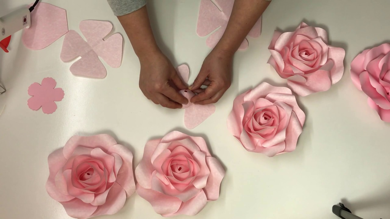 Mini rose paper flower free video tutorialhow to make paper rose mini rose paper flower free video tutorialhow to make paper rose flowerpaper rosediy paper flower mightylinksfo
