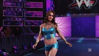WWE 2K19 - Team Eve Torres VS Team Tamina Snuka