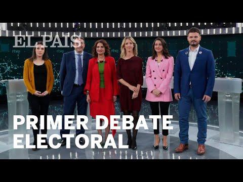 Tensión en el debate electoral en TVE