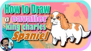 🎨 How to Draw a Cavalier King Charles Spaniel