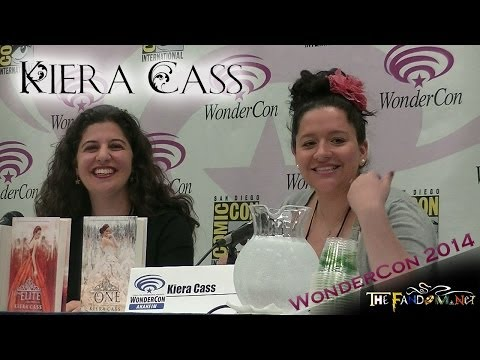 Kiera Cass panel at WonderCon 2014