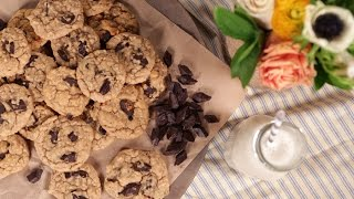 Guilt-free Chocolate Peanut Butter Cookie Recipe | Eat The Trend