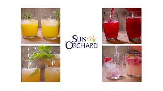 Juice Recipes Sun Orchard