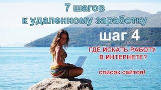Список сайтов для заработков в интернете