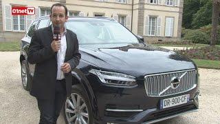 01Drive : essai Volvo XC90, la voiture connectée de l'année !