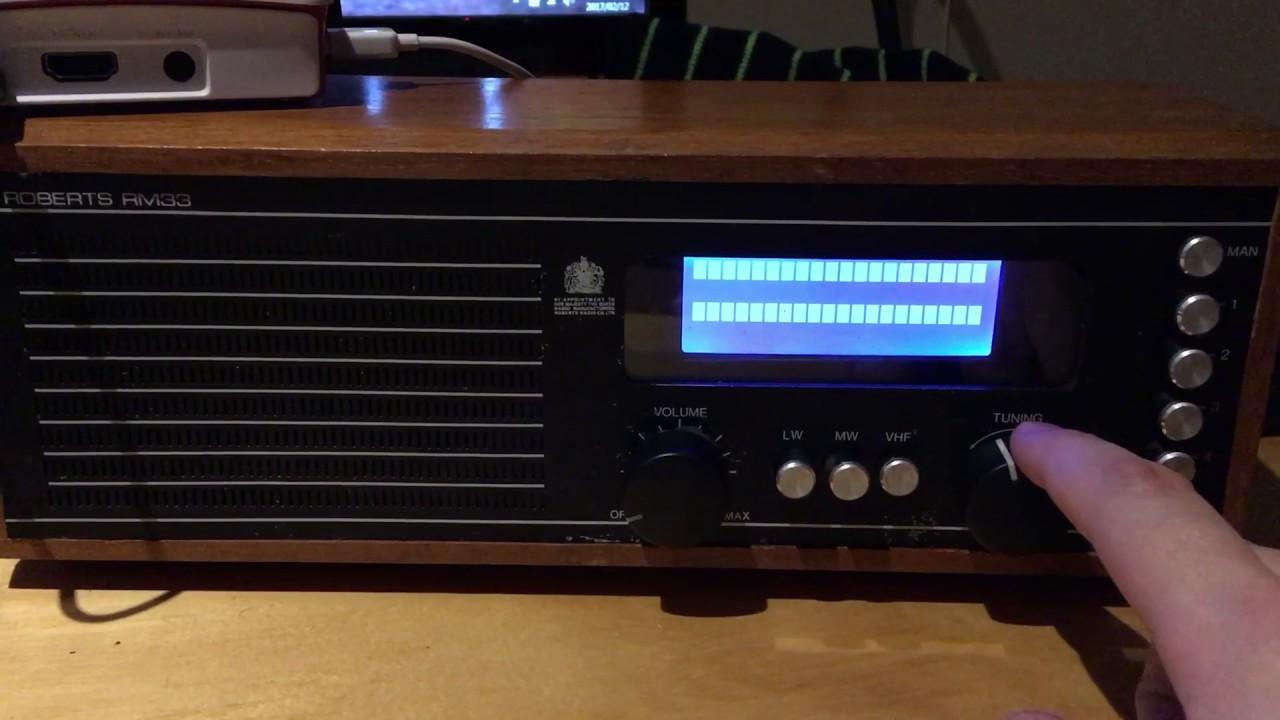 Raspberry Pi Radio - Switching to rotary encoder