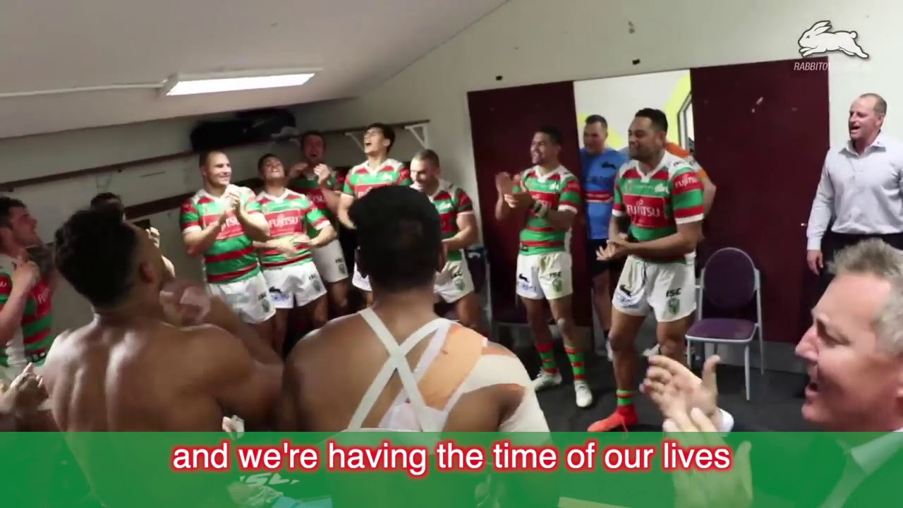 South Sydney Rabbitohs Victory Song With Lyrics Youtube