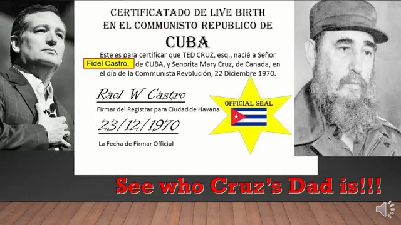 Ted cruz date of birth