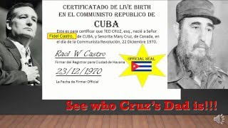 Where was Ted Cruz born? Ted Cruz s birth certificate reveals shocking truth!