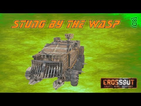 Crossout Gameplay - Ep 31 - When Wasps Attack - Let's Play