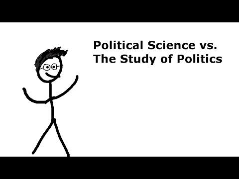 Political Science vs. The Study of Politics