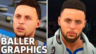 NBA 2K Vs. NBA Live - Graphics Comparison