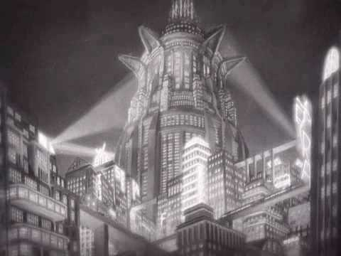 an analysis of the futuristic city in the film metropolis The last and one of the best bursts of german expressionism in film, metropolis was inspired by fritz lang's view of the in contrast to the machine rooms and the workers' city below is the futuristic city the film is still titled metropolis, mother city, so the impersonal construct.