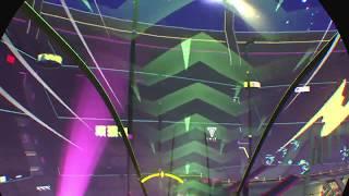 Sprint Vector virtual reality warmup area sick wall hang